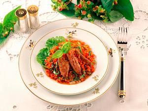 Linsen-Leber-Salat Rezept