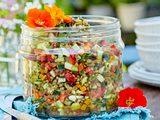 Linsen-Schnibbelsalat Rezept