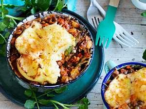 Linsen & Chill unter der Kartoffelhaube Rezept