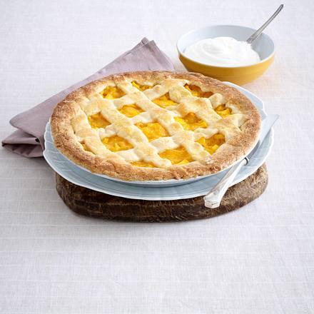 Linzer-Mango-Tarte Rezept