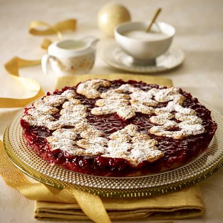 Linzer-Tannen-Torte Rezept