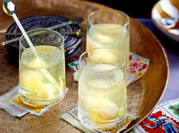 Litschi-Ingwer-Sekt Rezept