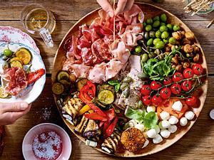 Little Italy Mashup – Antipasti-Platte Rezept
