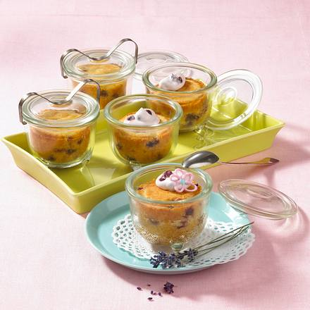 Löffelküchlein mit frischen Preiselbeeren Rezept