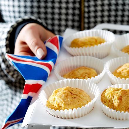 London - Möhren-Scones mit Sour Cream Rezept