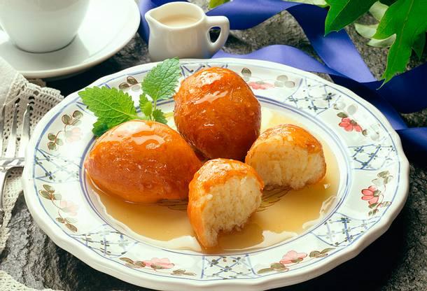 Loukoumudas (Honigkugeln) Rezept