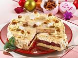 Lübecker-Kirsch-Torte mit gebrannten Mandeln Rezept
