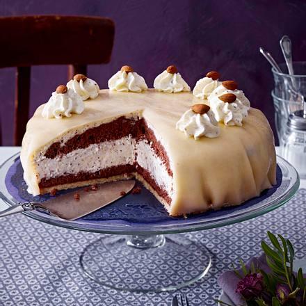 Lübecker-Mandel-Torte mit Kakao Rezept