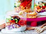 Lunchsalat mit Cranberrys Rezept