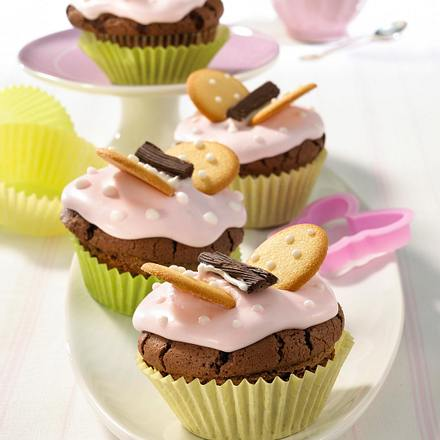 Lustige Schoko-Muffins Rezept