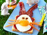 Lustiges Hasenfrühstück Rezept