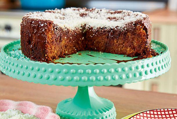 Möhren-Apfel-Kuchen Rezept-F8483202