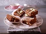 Macadamia-Brownies vom Blech Rezept