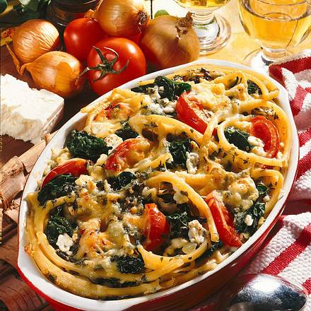 Maccaroni-Gemüse-Auflauf Rezept