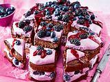Magische Brombeer-Blaubeer-Torte Rezept
