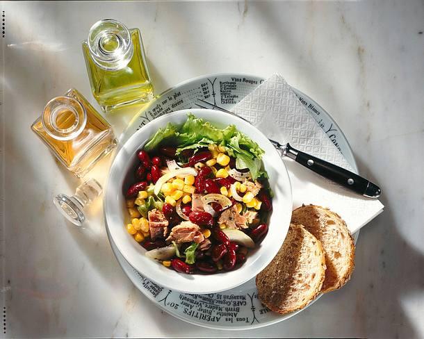 Mais-Bohnen-Salat Rezept