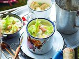 Mais-Kartoffel-Einheizer mit Stremellachs Rezept