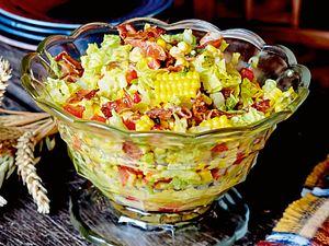 Maissalat mit Bacon Rezept
