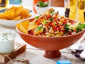 Maissalat mit Tortilla-Chips Rezept