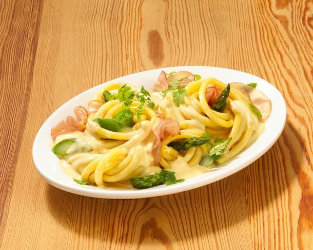 Makkaroni Carbonara Art (Pastasoße) Rezept