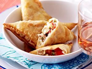 Makrele und Mozzarella im Filoteig Rezept