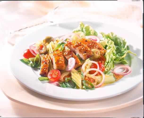 Makrelensalat mit Senfsoße Rezept