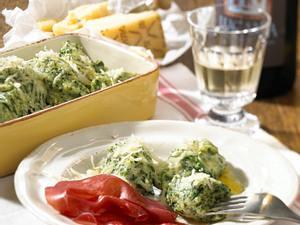 Malfatti (Spinat-Käse-Nocken) Rezept