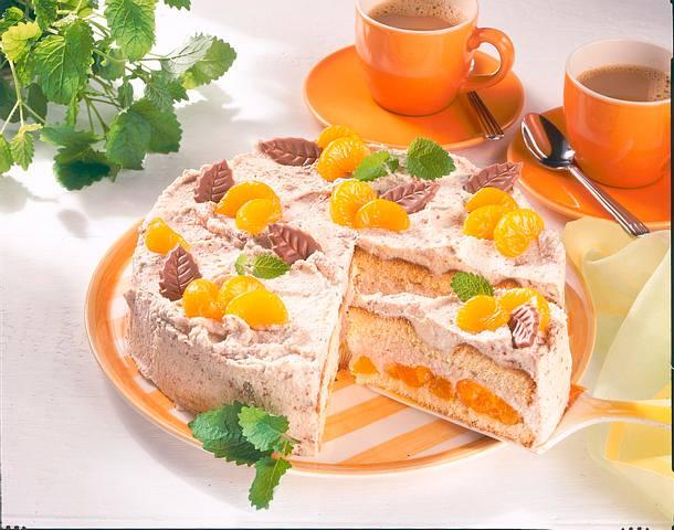 Mandarin-Schoko-Torte Rezept