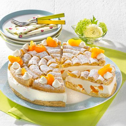 Mandarinen-Brandteig-Torte (Diabetiker) Rezept