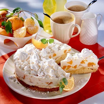 Mandarinen Fanta Torte Mit Baiserboden Rezept Lecker