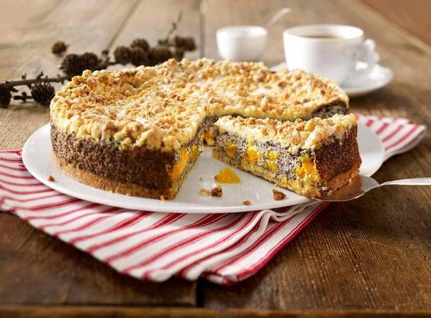 Mandarinen-Mohn-Kuchen Rezept