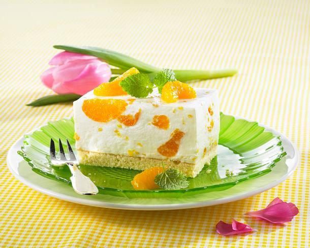 Mandarinen-Sahne-Schnitten Rezept
