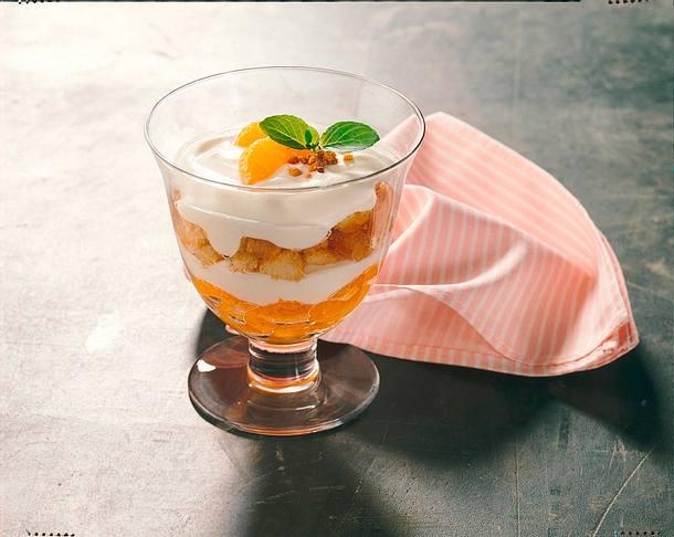 Mandarinen-Schichtspeise Rezept