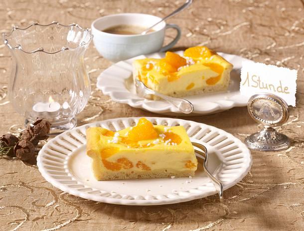 Mandarinen-Tarte Rezept