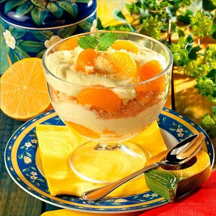 Mandarinen-Zitronen-Schichtspeise Rezept
