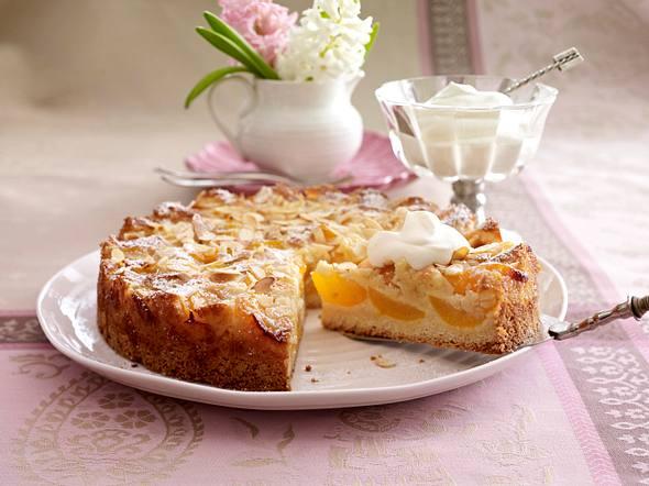 Mandel-Aprikosenkuchen Rezept