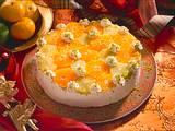 Mandel-Lemoncurd-Torte mit Zitrusfrüchten Rezept