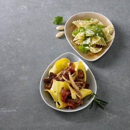 Mandel-Pesto Nudelsoße Rezept