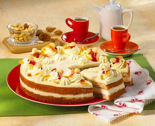 Mandel-Pudding-Torte Rezept