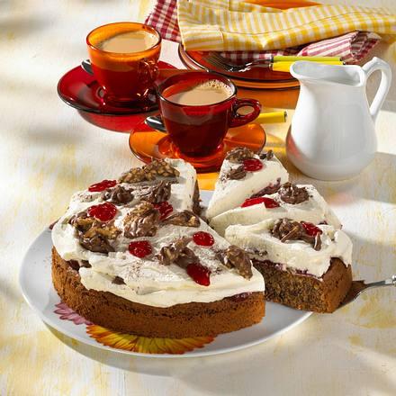Mandel-Splitter-Torte Rezept