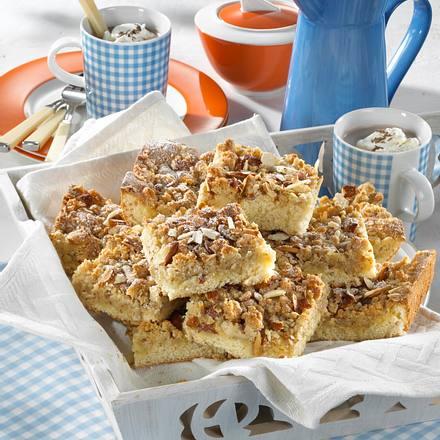 Mandel-Streuselkuchen vom Blech Rezept