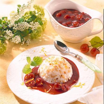 Mandelreis mit Kirschen Rezept