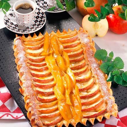 Mango-Apfel-Tarte Rezept
