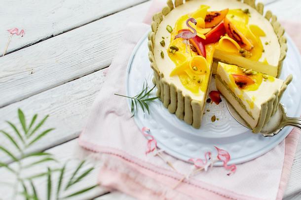 Mango-Charlotte Rezept