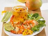 Mango-Chutney mit Garnelen Rezept
