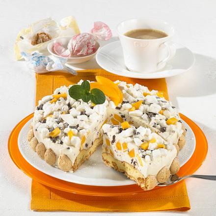 Mango-Crème-fraîche-Torte Rezept