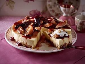 Mango-Feigen-Torte mit Walnussboden Rezept