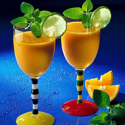 Mango-Fit-Drink Rezept