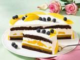 Mango-Heidelbeer-Torte Rezept
