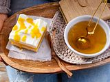 "Mango-Joghurt-Schnitten ""ein süßes Paar"" Rezept"